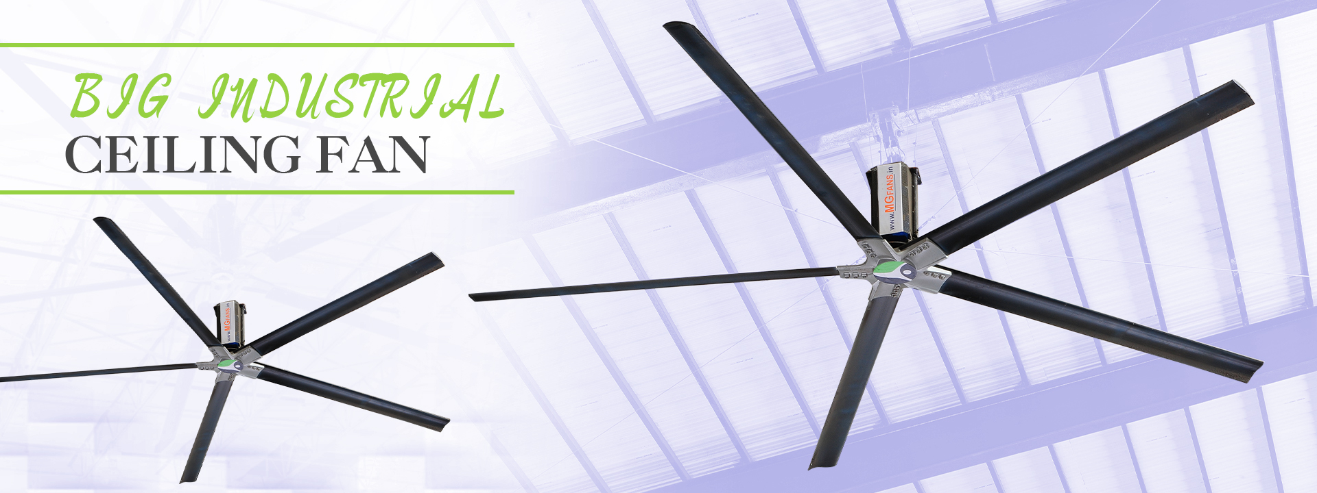 BIG INDUSTRIAL CEILING FAN