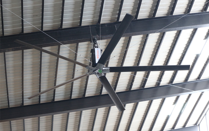 Big Fans For Railway Stations