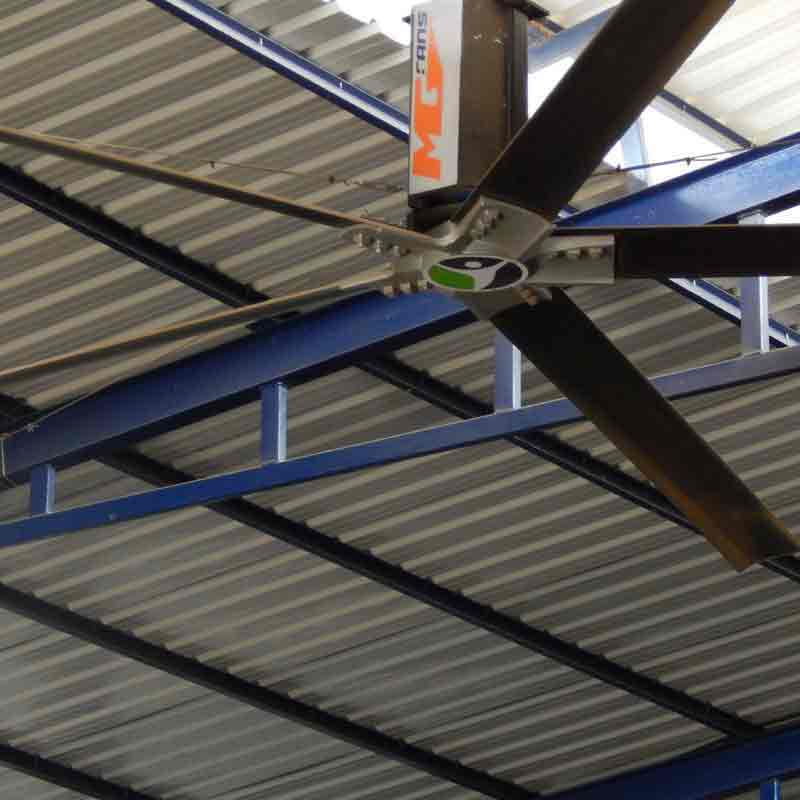 HVLS Fans Manufacturers In Jammu and Kashmir